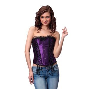 corset morado